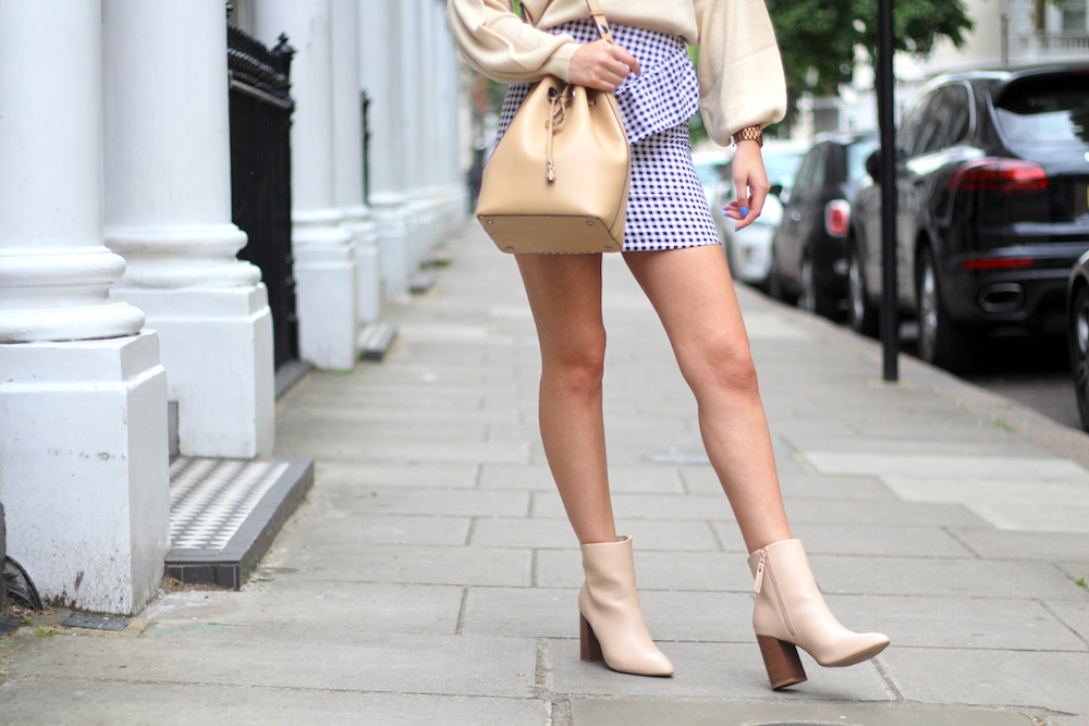 peexo spring style neutrals gingham