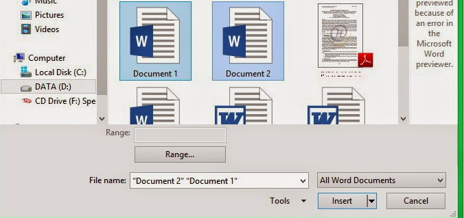 I created this article originated from an assignment given to me which is composed of sev How to Combine Files Documents In Microsoft Word 2013