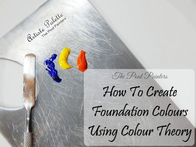 Foundation Colours Colour Theory Artiste Palette