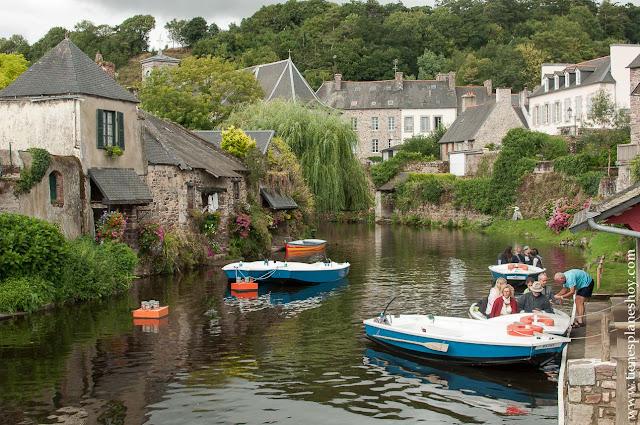 Pontrieux pueblos bonitos Bretaña francesa diario viaje
