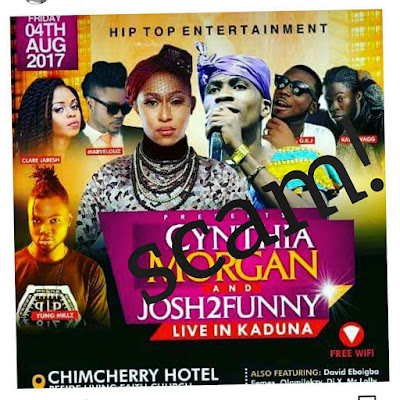 SCAM ALERT: I Am Not Coming To Kaduna - Comedia Josh2Funny Blows Hot (Watch Video)