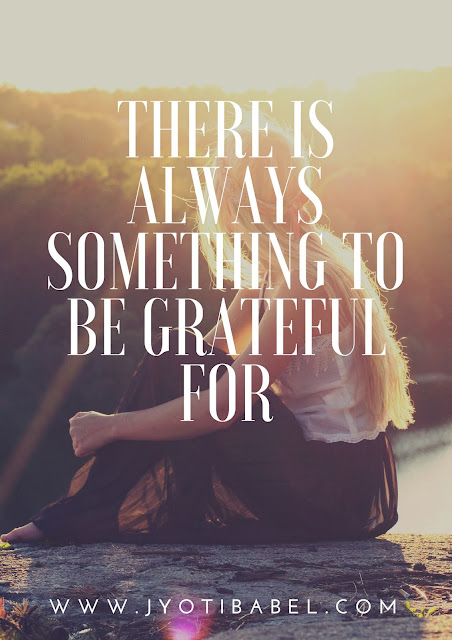 There is always something to be grateful for. Gratitude for the month of May 2018.