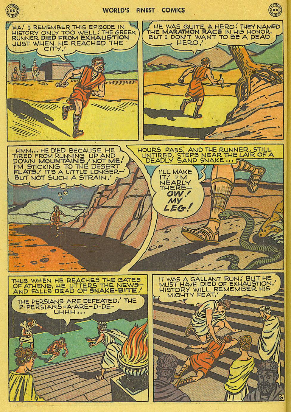Read online World's Finest Comics comic -  Issue #34 - 32