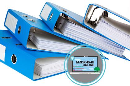 Download Administrasi Tata Usaha Madrasah/Sekolah Lengkap Bagian I