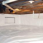 crawlspace encapsulation system