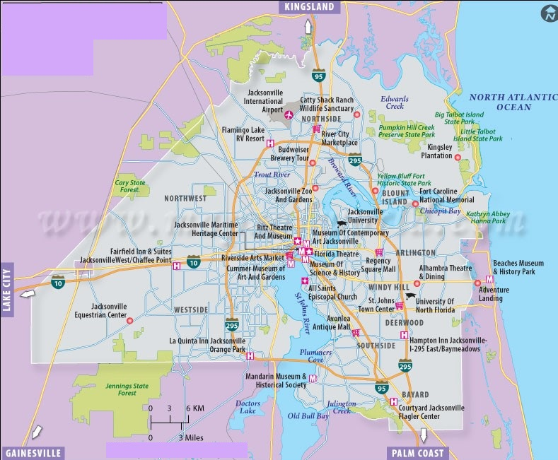 Map Of Florida - Map of northern florida cities