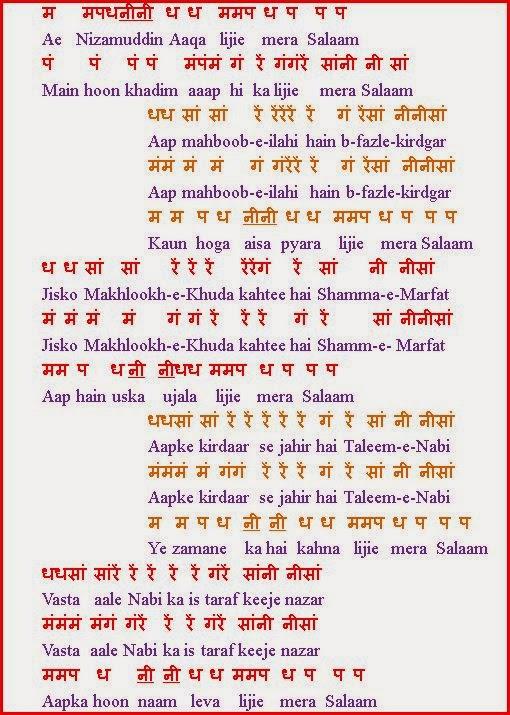 Article Collection  » HARMONIUM NOTES FOR HINDI BHAJANS PDF