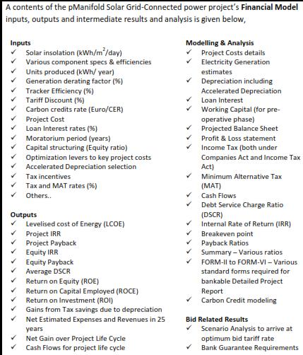 Bid Analytics for JNNSM Batch-1 Solar PV projects