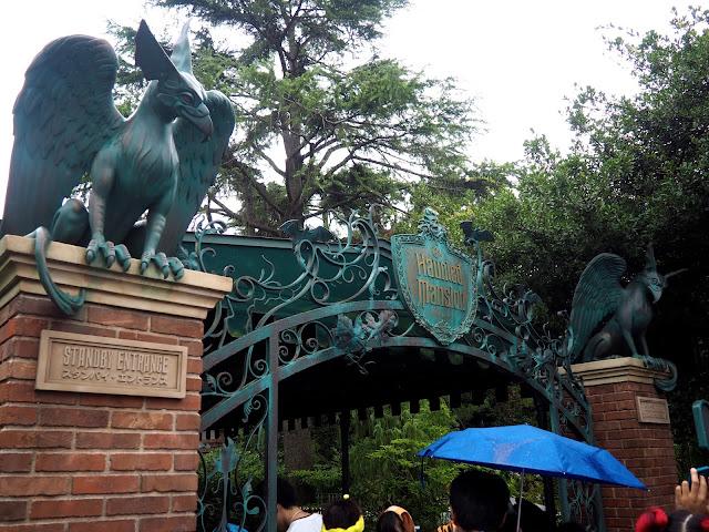 Haunted Mansion, Tokyo Disneyland, Japan