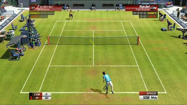 أفضل لعبة تنس Tennis للاندرويد زوجية تدعم اللعب شراكة مع اي صديق بالبلوتوث بدون انترنت