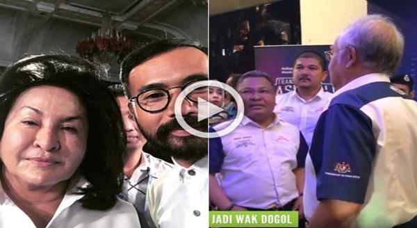 (Video) Ini Memang Lawak Gila!! Najib Salah Panggil Wak Doyok Dengan Nama Wak Dogol..