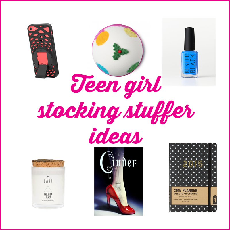 teen girl stocking stuffer ideas