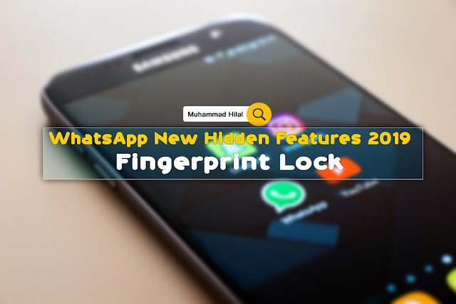 Whatsapp Finger Print Locker