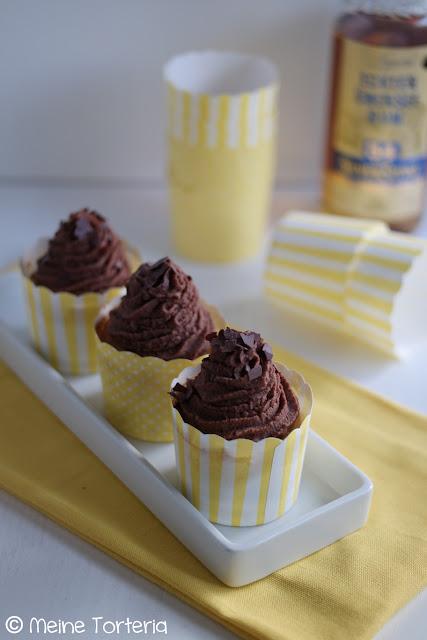 Schoko-Bananen-Cupcakes