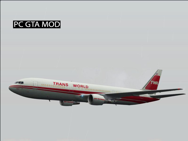 Free Download Boeing 767-300 Updated Mod for GTA San Andreas