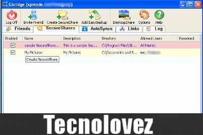 Gbridge - Programma per costruire una VPN tra diversi PC e condividere file