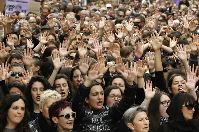 Spain over gang rape acquittal