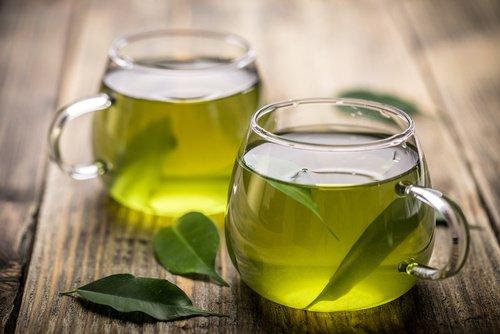 Le thé vert au gingembre