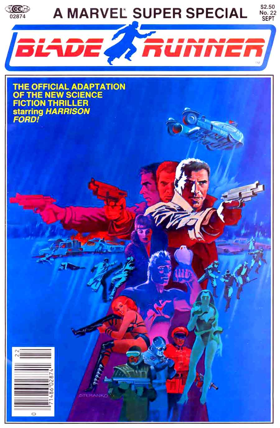 Marvel Super Special #22 / Blade Runner - Jim Steranko cover
