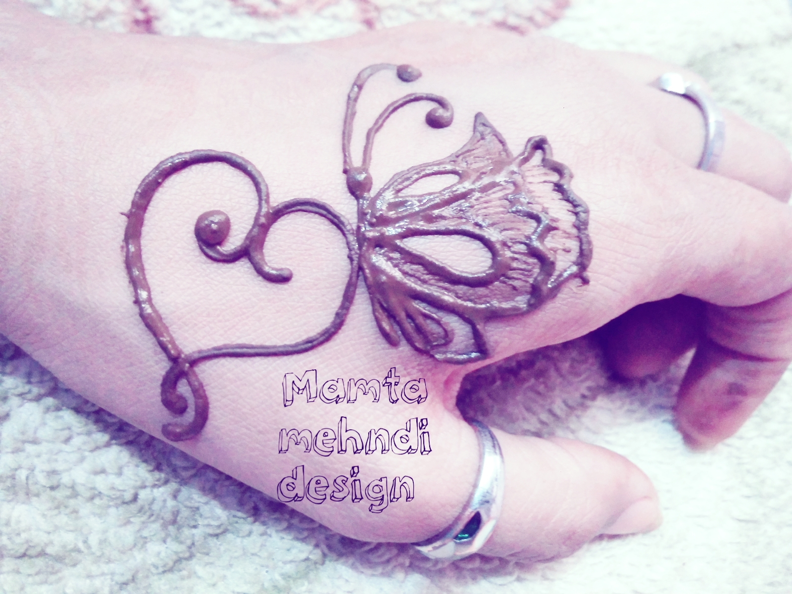 Simple Easy Butterfly Tattoo Designs