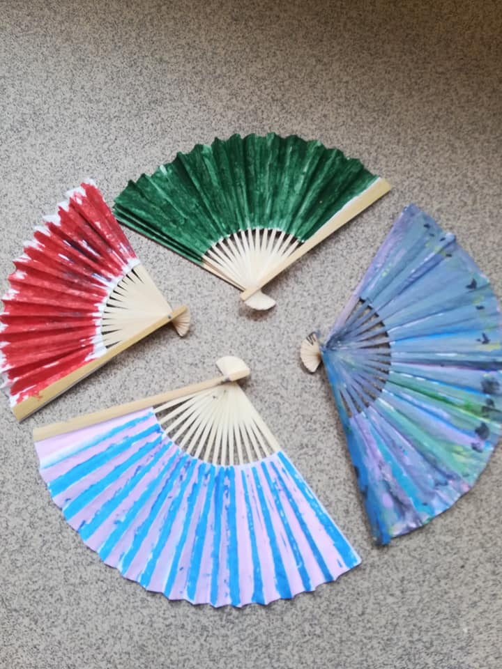 HobbyCraft And Us ..............Fans and PomPoms
