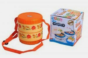 buy Mayo Lunch Box With 2 Steel Containers at best discount price