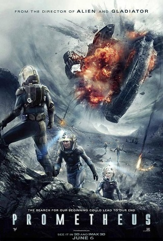 Prometheus 2012 Dual Audio Hindi 400MB BluRay 480p