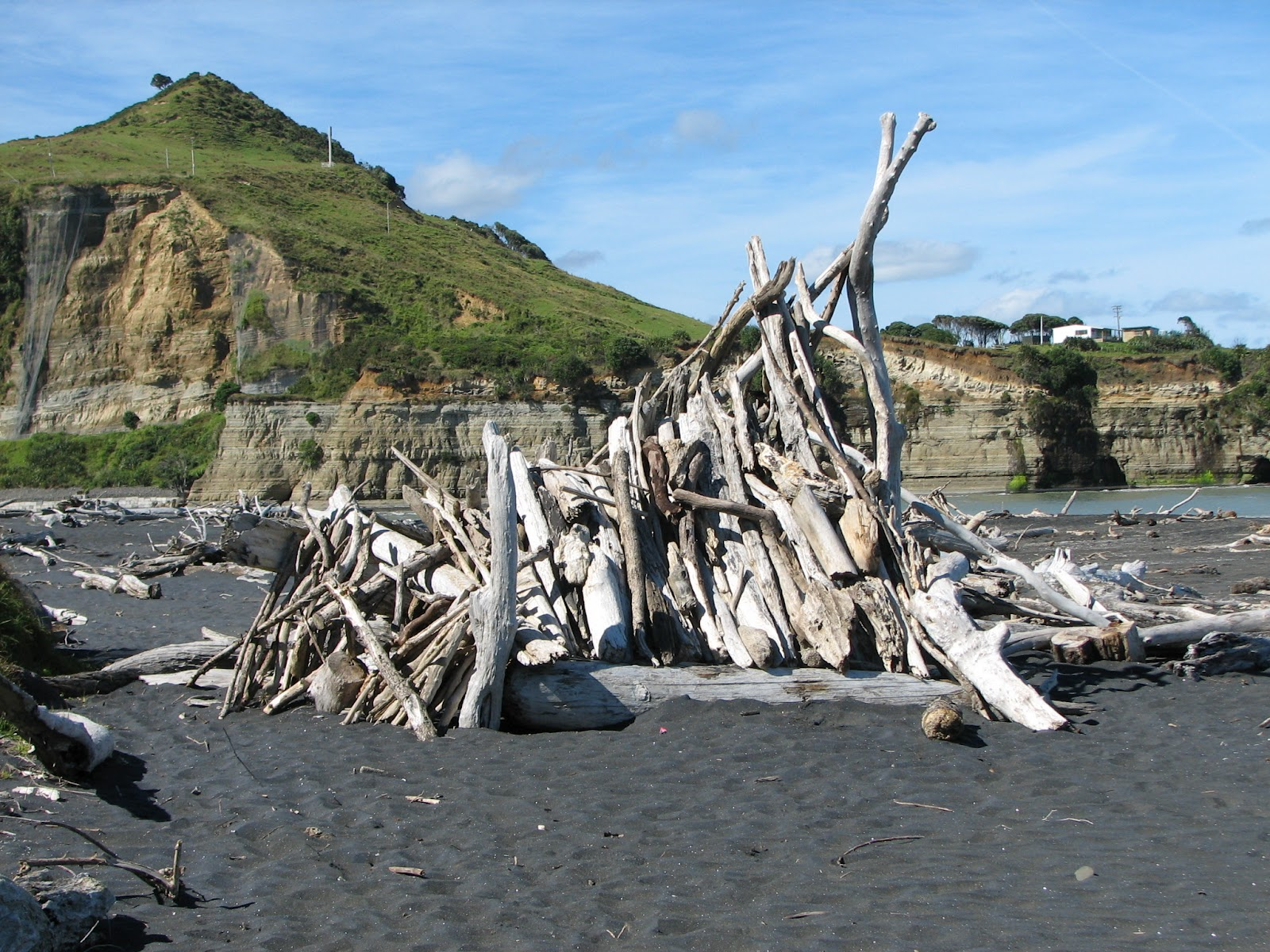 beaches and metaphysics over the summer people have constructed the most wonderful beach huts and houses from this driftwood enjoy my photo essay