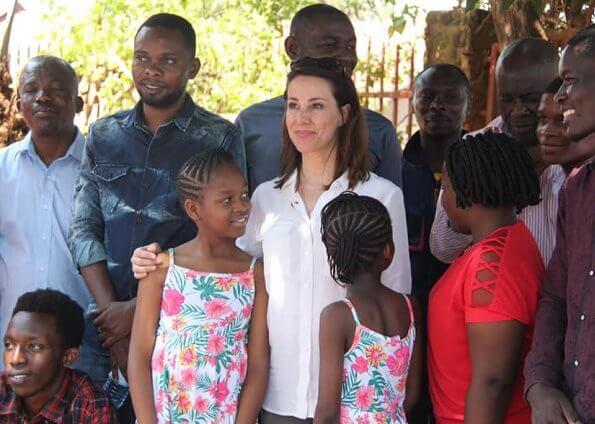 Princess Marie is making a working visit to Uganda's capital Kampala, Arua and Katakwi cities. Raising Gabdho Foundation