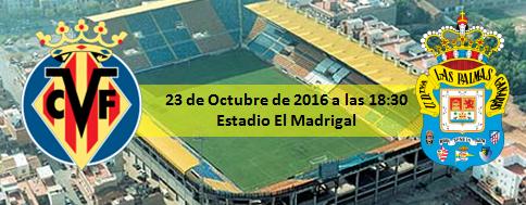 Previa Villarreal CF - UD Las Palmas 23 Octubre 2016 a las 18:30