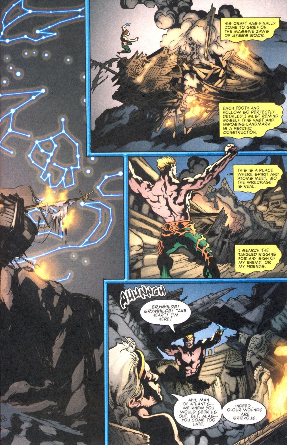 Read online Aquaman (2003) comic -  Issue #10 - 5