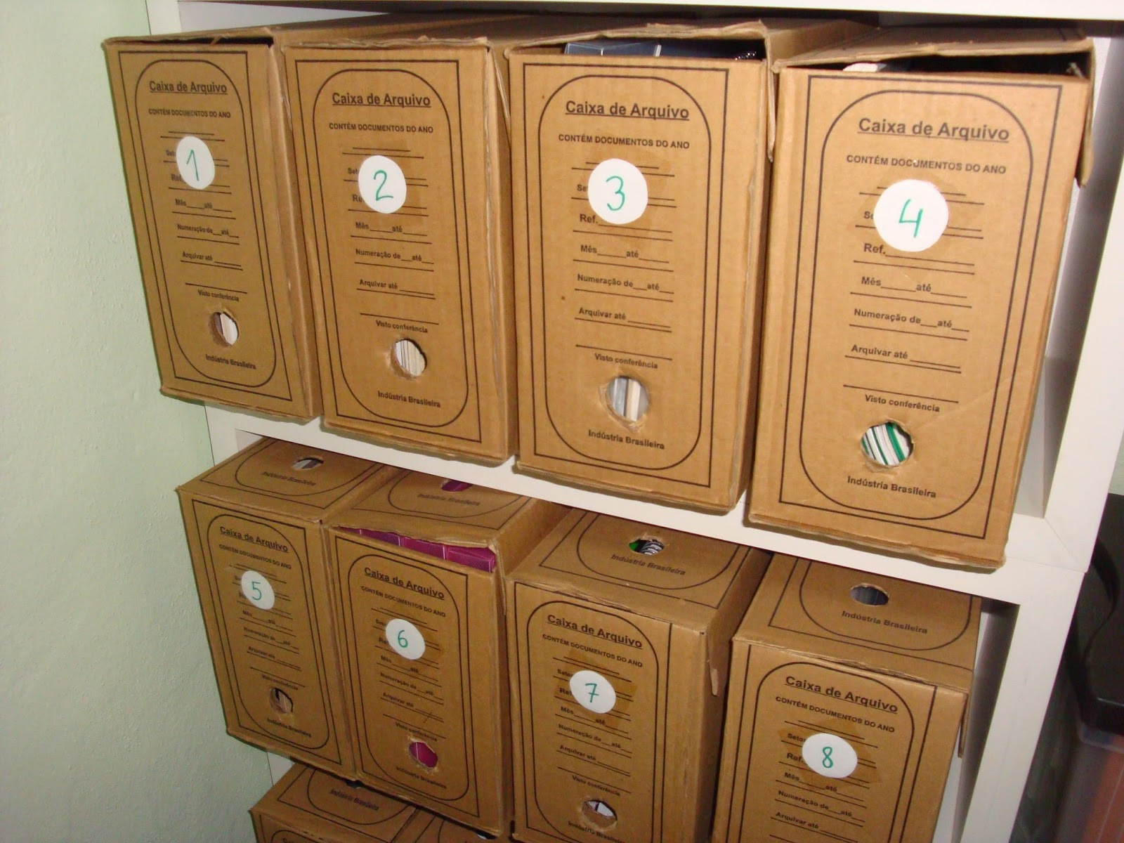 Caixas de Arquivo - Arquivo Intermediário