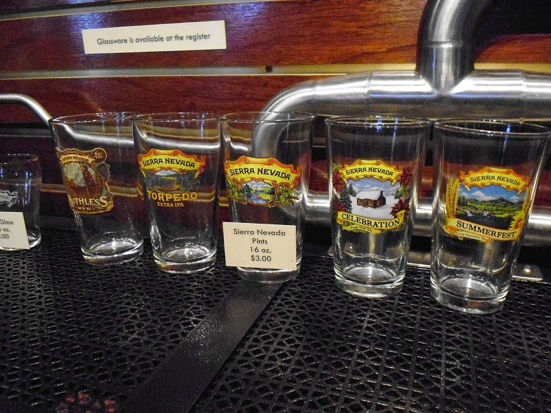 Sierra Nevada Pint glasses