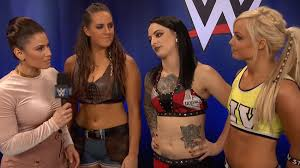 Riott Squad WWE Women SmackDown Live Royal Rumble