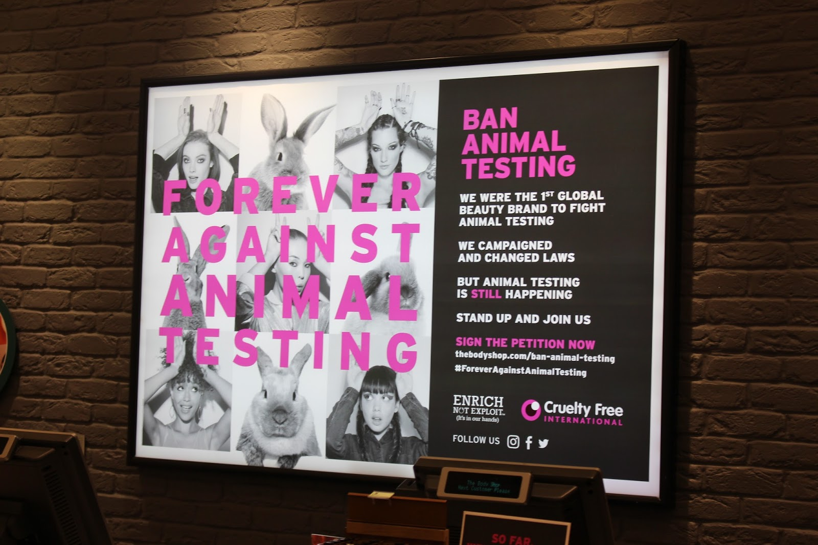 animal testing petition