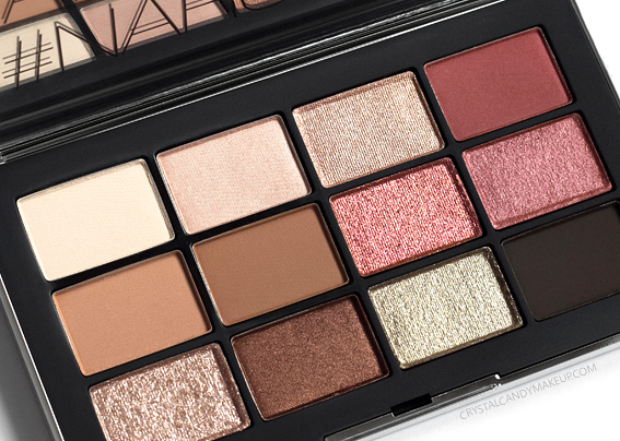 Nars NARSissist Wanted Eyeshadow Palette Review Comparison Loaded Love Game