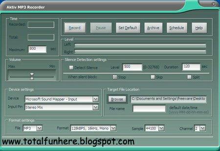 Screenshot downloads of freeware internet radio player download.