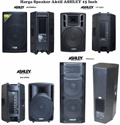 Harga Speaker Aktif ASHLEY 15 Inch