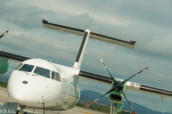 Avion a Oslo
