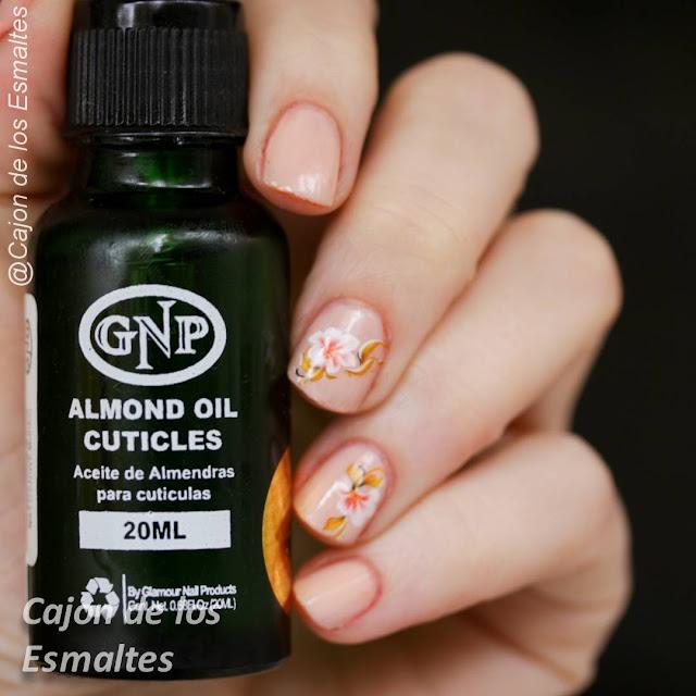 Aceite de almendras para cutículas GNP
