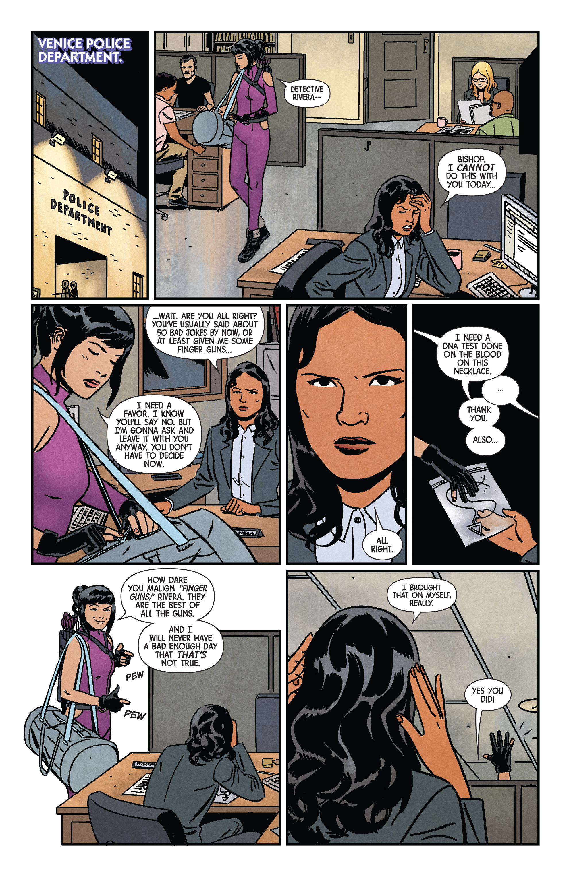 Read online Hawkeye (2016) comic -  Issue #7 - 7