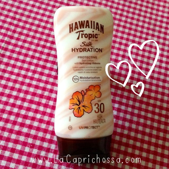 00-COLLAGE-LaCaprichossa-Intima Cherry-Hawaiian Tropic-Bulgari-Maria Galland-Clarins-Mis 5 favoritos para este verano