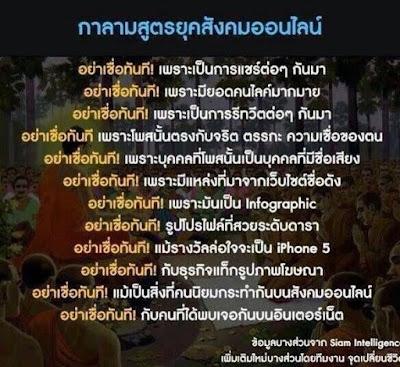 คนติดวัด : คนไทยกับกาลามสูตร