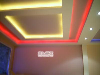 POP ceiling design false ceiling for living room LED indirect lighting ideas