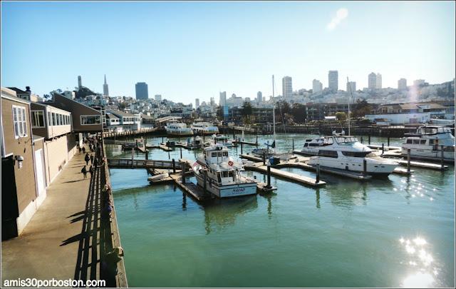 Vistas de San Francisco desde el Pier 39