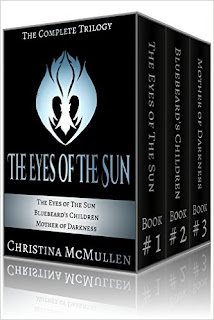 The Eyes of The Sun: The Complete Trilogy- a romantic sci-fi/fantasy hybrid by Christina McMullen
