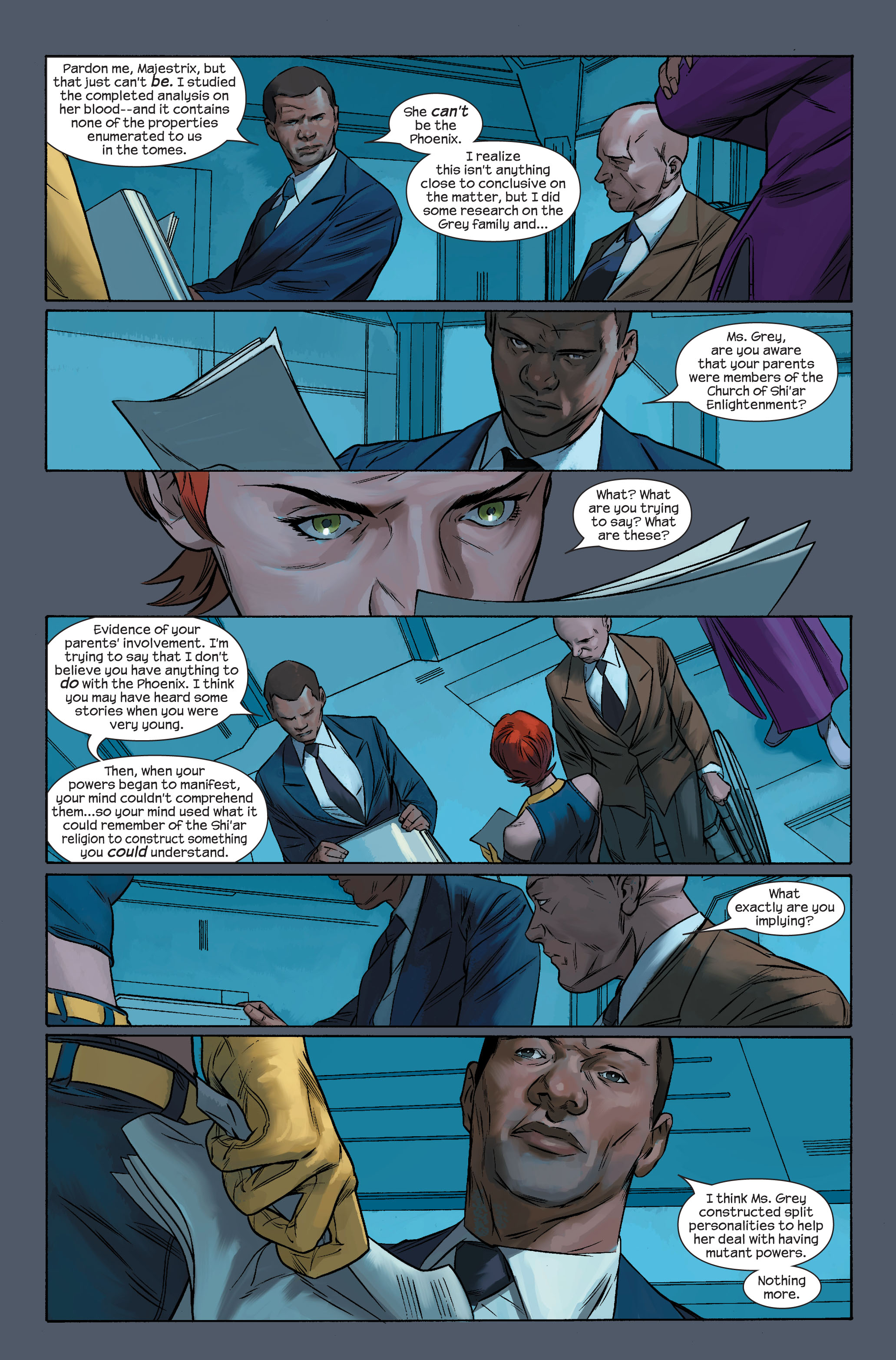 Read online Ultimate X-Men comic -  Issue #71 - 18