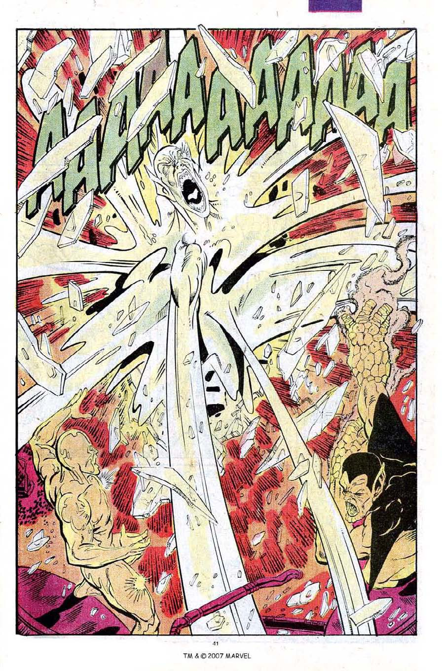 Read online Silver Surfer (1987) comic -  Issue #25 - 43