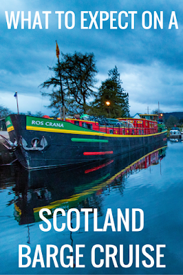 Travel the World: Caledonian Discovery leads fun active cruises through the Scottish Highlands.  We share what to expect on a Scotland cruise with Caledonian Discovery.