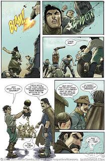 páginas de Lobo Solitario 2100